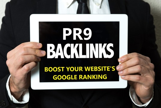 Create manually 55 PR9 high authority backlinks for ranking up site or video