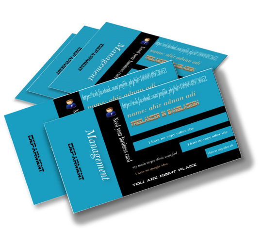 I will Design 2 Business Cards Or Letterhead with Stationery