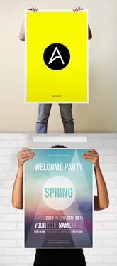Design a Poster or Any Large Format Artwork