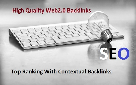 I will I Will Do 10 Web 2,0 ,Contextual Backlinks