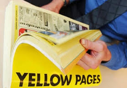 I will scrape data from Yellowpages