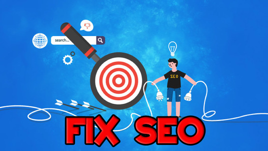 I will FIX SEO issues on your website