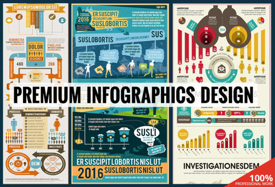 I will create a unique infographic design