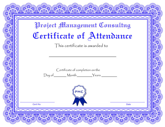 I will design amazing certificate for your company