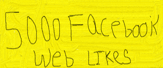 I will 5000 facebook web likes high pr in