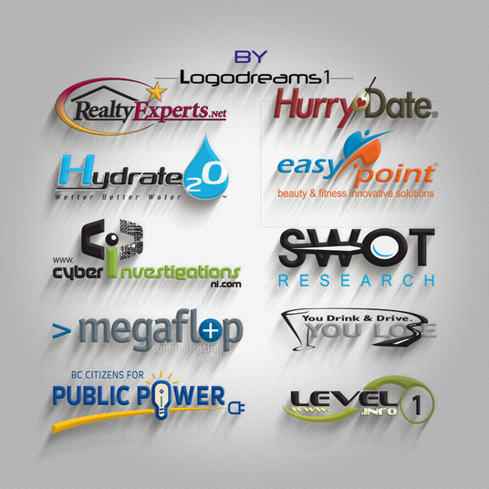I will Design 3 Creative And Professional Logo Concepts For You