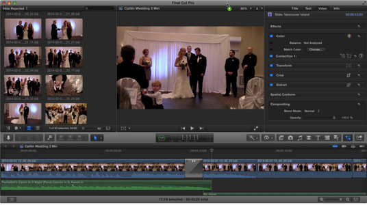 I will do wedding video editing or any other event video editing