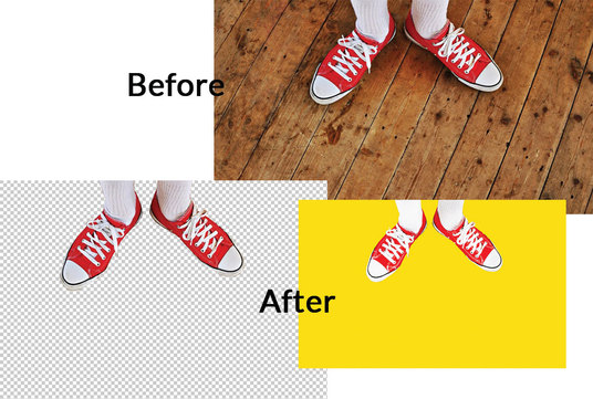 I will remove background of images professionally