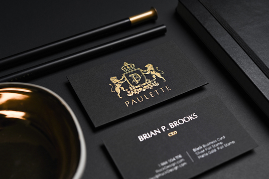 I will design  Luxury Business Card within 24 hours
