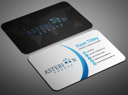 I will design stylish double sided business card  within 24 hours