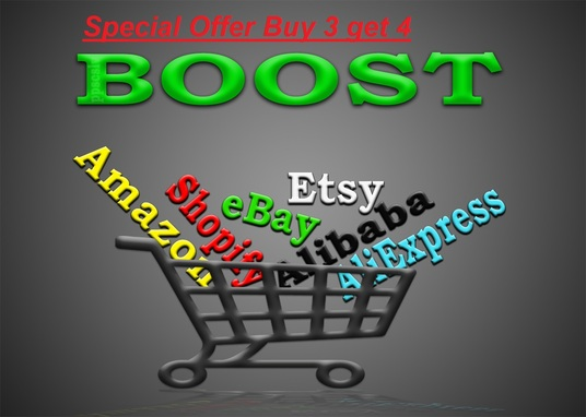 I will increase traffic to any Amazon, Shopify, eBay, Etsy, Alibaba or AliExpress store