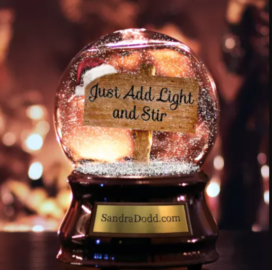 I will Put Your Logo Or Message In A Snow Globe For Christmas