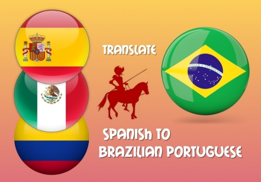 I will translate 300 words from Spanish to Brazilian Portuguese