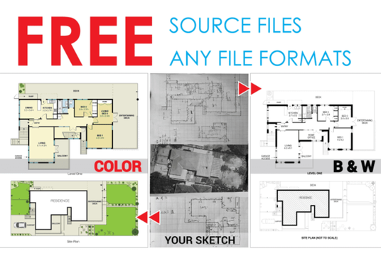 redraw your sketch pdf,floor plan,for real estate agents, property manager autocad