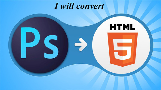 I will convert your PSD to responsive HTML