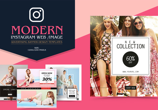 I will design Superb Instagram promotion banner ad