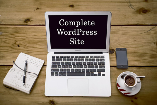 I will design and develop a complete responsive Wordpress website