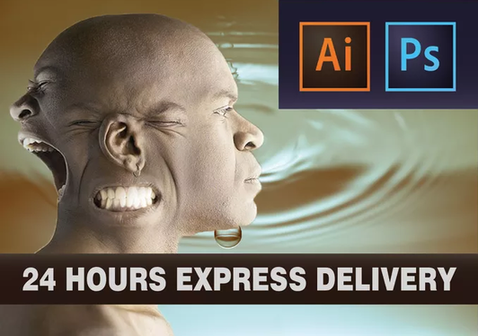 Edit your illustrator or photoshop file within 24 hours