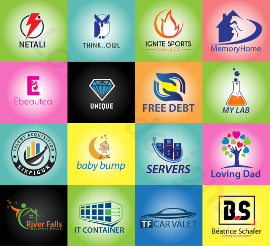 I will design innovative logo for you