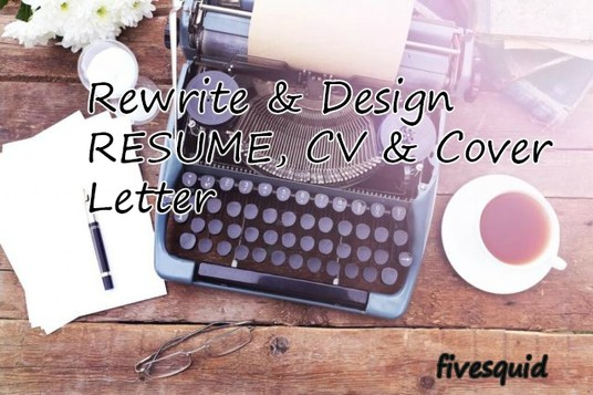 I will Write A Brilliant Resume, CV or Cover Letter For You