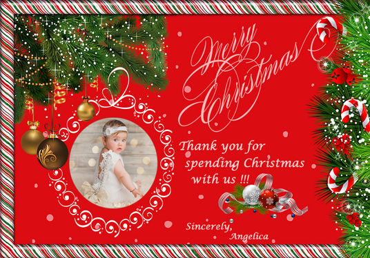 I will Design A Memorable Christmas Card Just For You