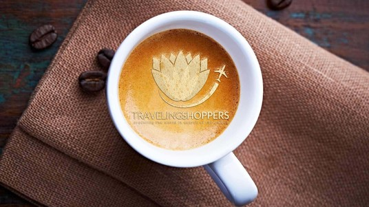 put your Text or Logo in coffee cup