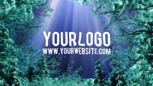 I will reveal your logo in this UNDERWATER video intro
