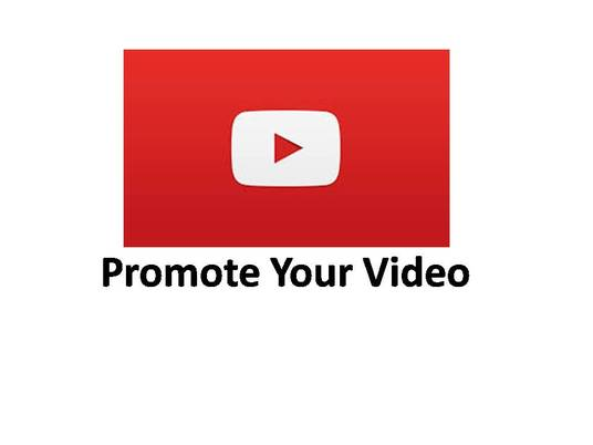 I will Promote your YouTube videos and Bring Real traffic