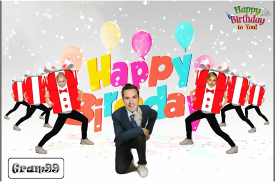 I will Create A Funny Video About Happy Birthday