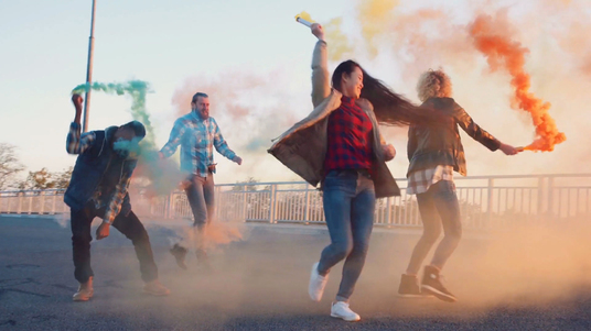 create a trendy hipster music video for your song