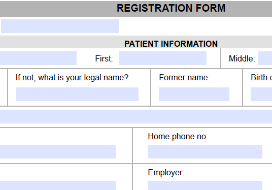 I will design and develop fillable PDF and MS Word form