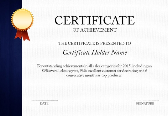 I will Design Professional Certificate for your Company or Organization