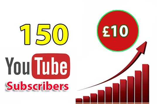 I will give you 150 YouTube Subscriber