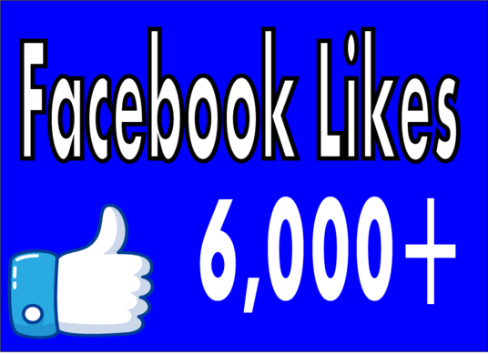 I will Add Real Fast 6,000 Facebook Fan Page Likes