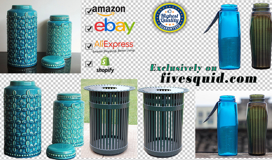 I will remove the background of 100 Easy Product Images Quickly