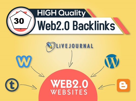 I will Provide quality High DA/PA Web 2.0 backlinks