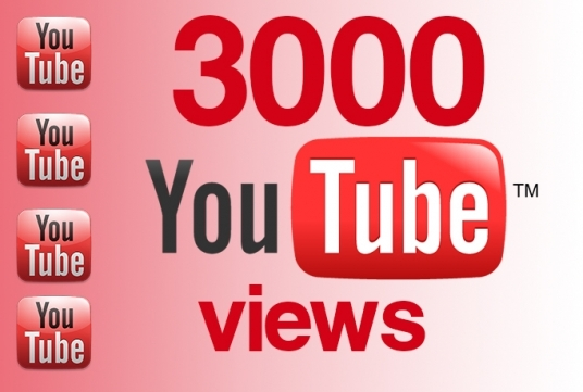 I will get you 3000 UK HQ youtube views