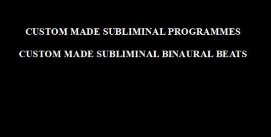 I will create a custom subliminal or binaural subliminal mp3 with your chosen affirmations