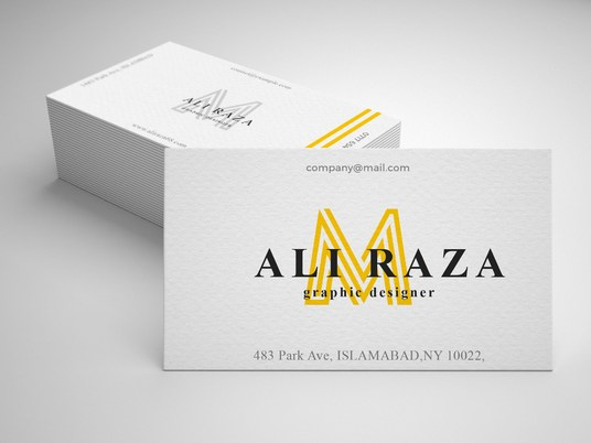 I will Design Modern and unique Business Card with Company ID Card