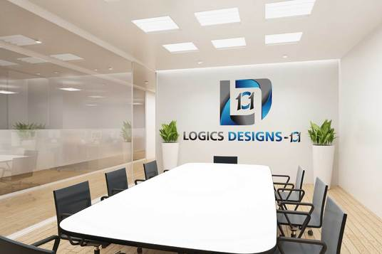 I will design 4 Realistic Interior Office mock-up