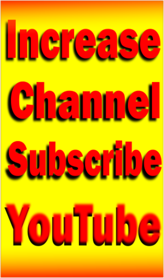I will Help to increase HQ Guarantee youtube subscribers 50+