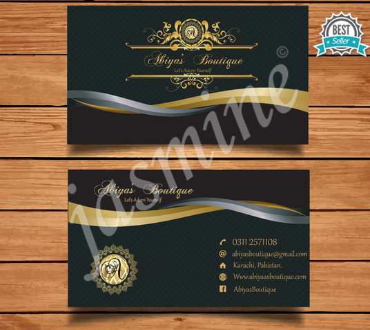 I will design unique business card
