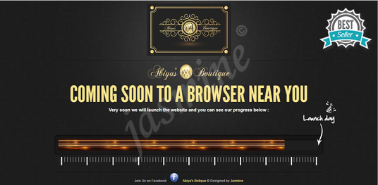 I will design amazing coming soon page