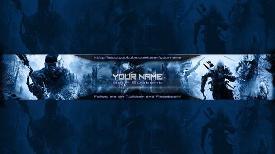 I will make design of Youtube banners for any industry (facebook cover too)