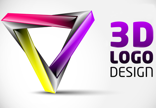 I will design 3d LOGO for you