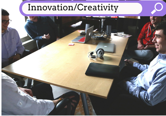 I will Be your Creative/Innovation Consultant