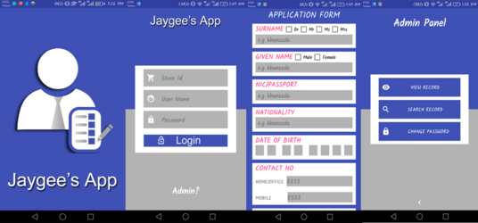 I will make an Android Application for you