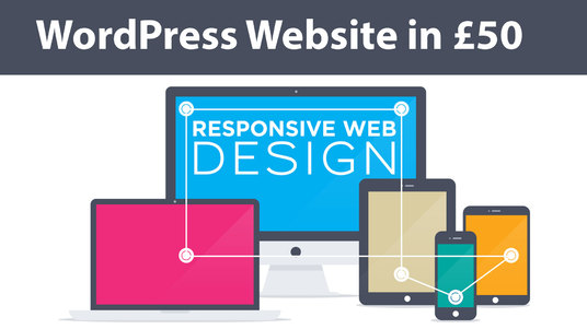 I will Build A Responsive, Fast Loading Wordpress Website