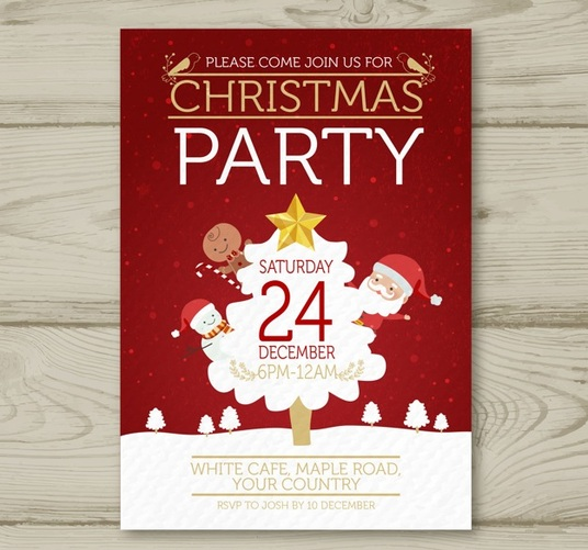I will design an ATTRACTIVE Christmas flyer/poster for you