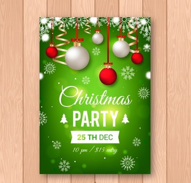 design an ATTRACTIVE Christmas flyer/poster for you